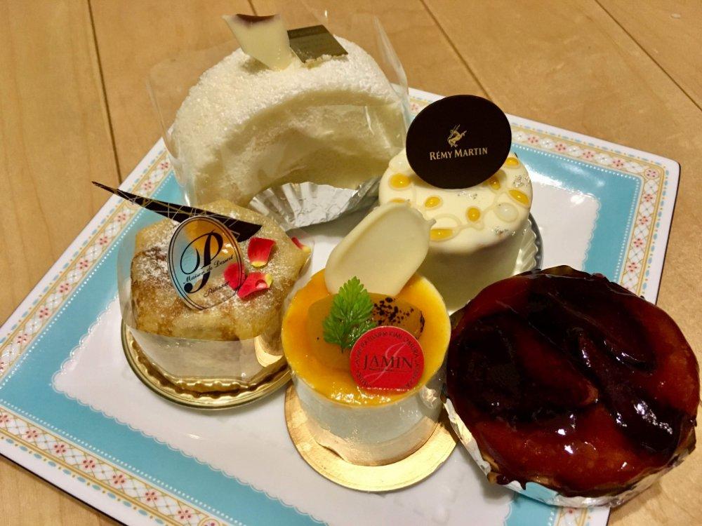 泉区市名坂ジャマンのケーキ