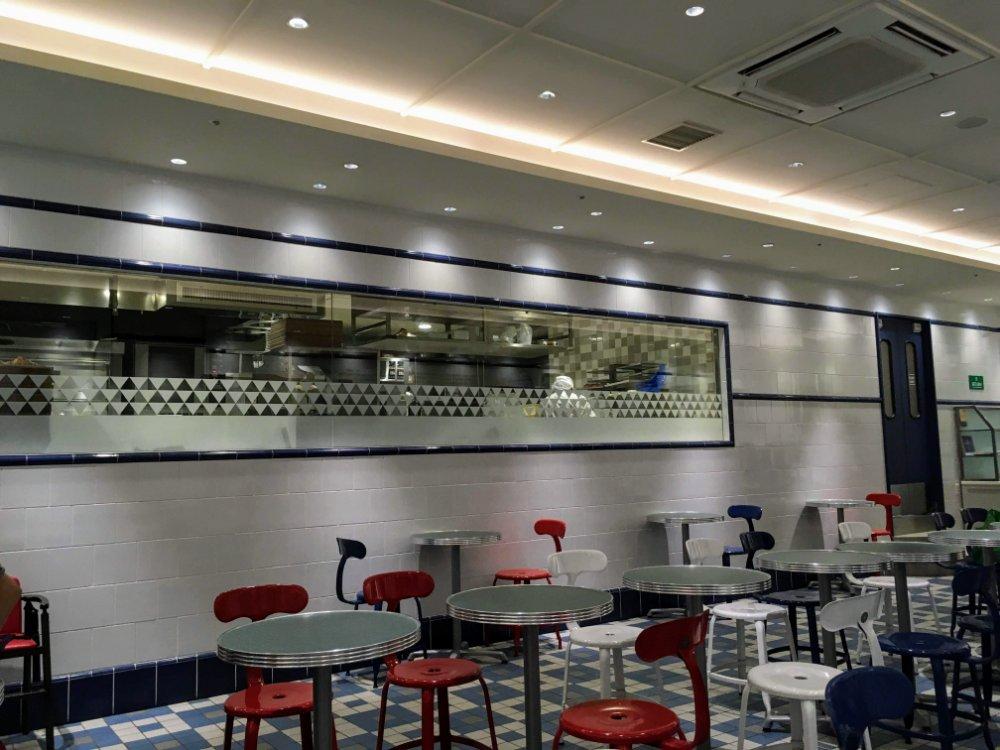 ブールアンジェ仙台店のイートインカフェ