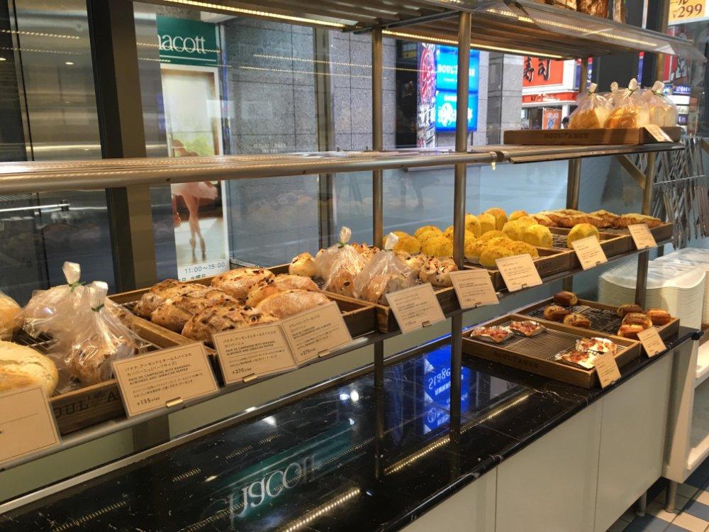 ブールアンジェ仙台店のパン