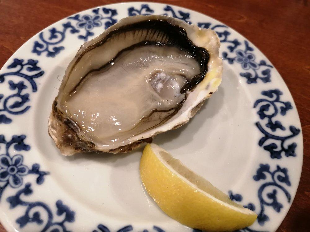 北海道レストラン仙台長町店の100円生牡蠣