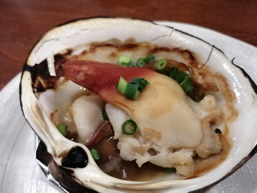 北海道レストラン仙台長町店の100円ホッキ貝