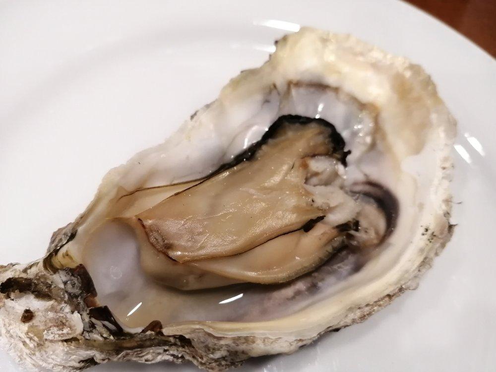 牡蠣素焼き