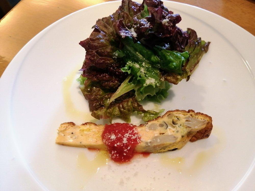 ピュセンプレの前菜