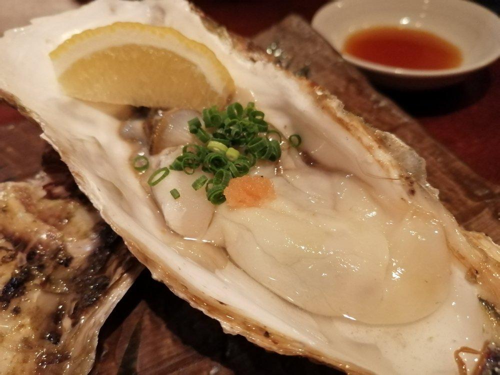 国分町 瑠璃座の牡蠣