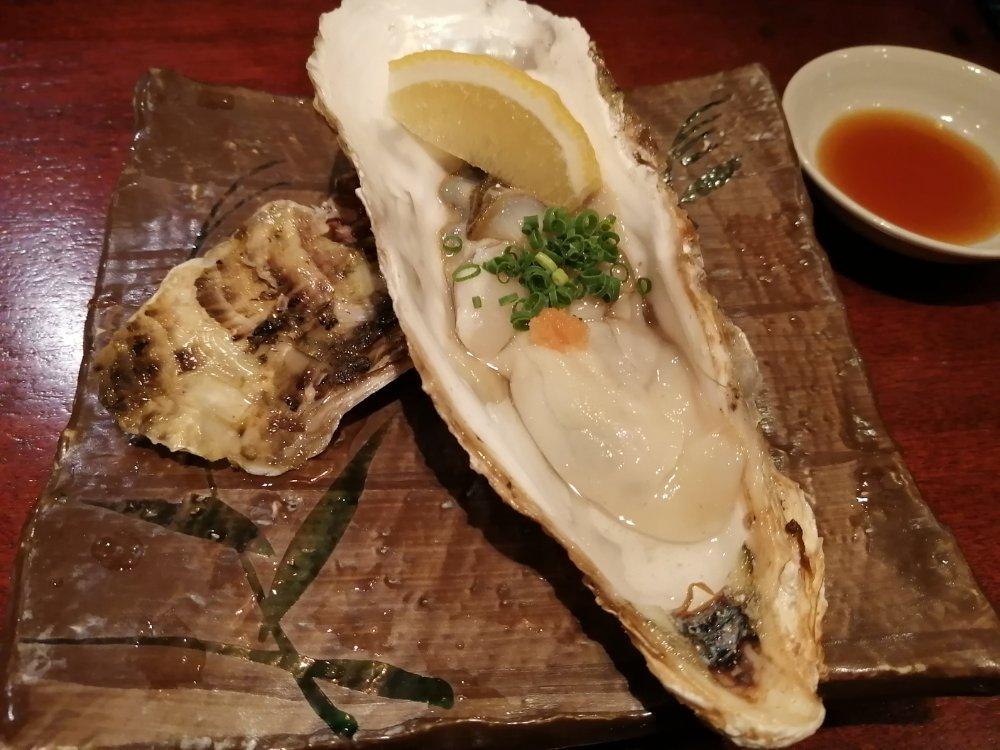 瑠璃座 牡蠣