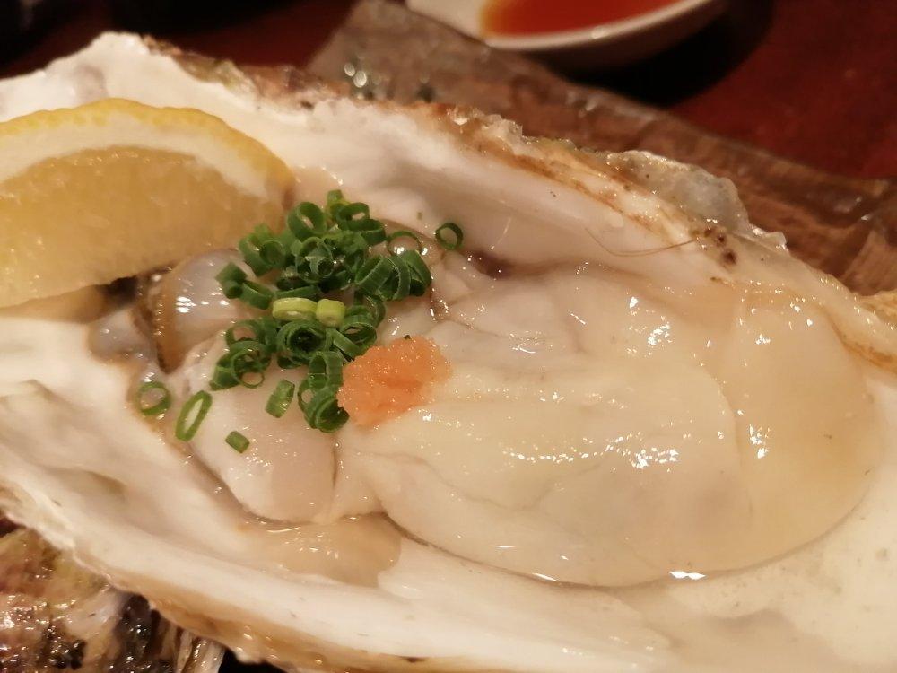 瑠璃座の牡蠣酢