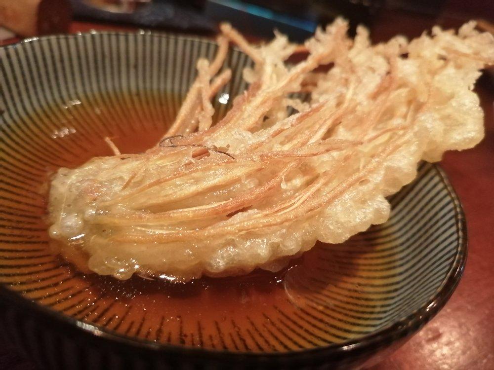 せり根の天ぷら