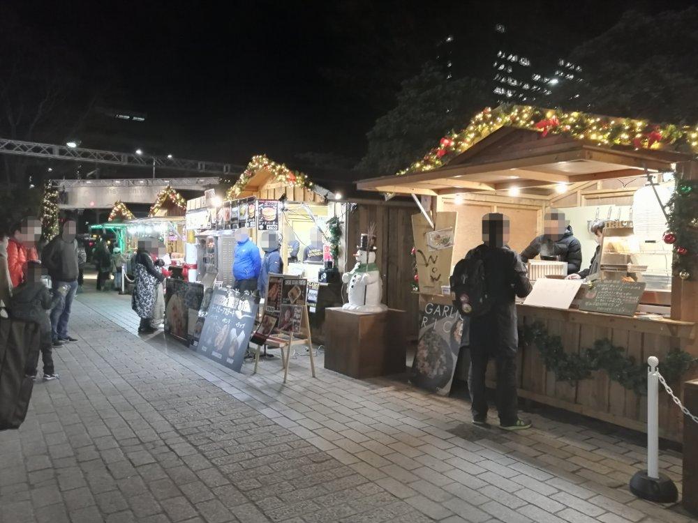 市民広場のクリスマスマーケット