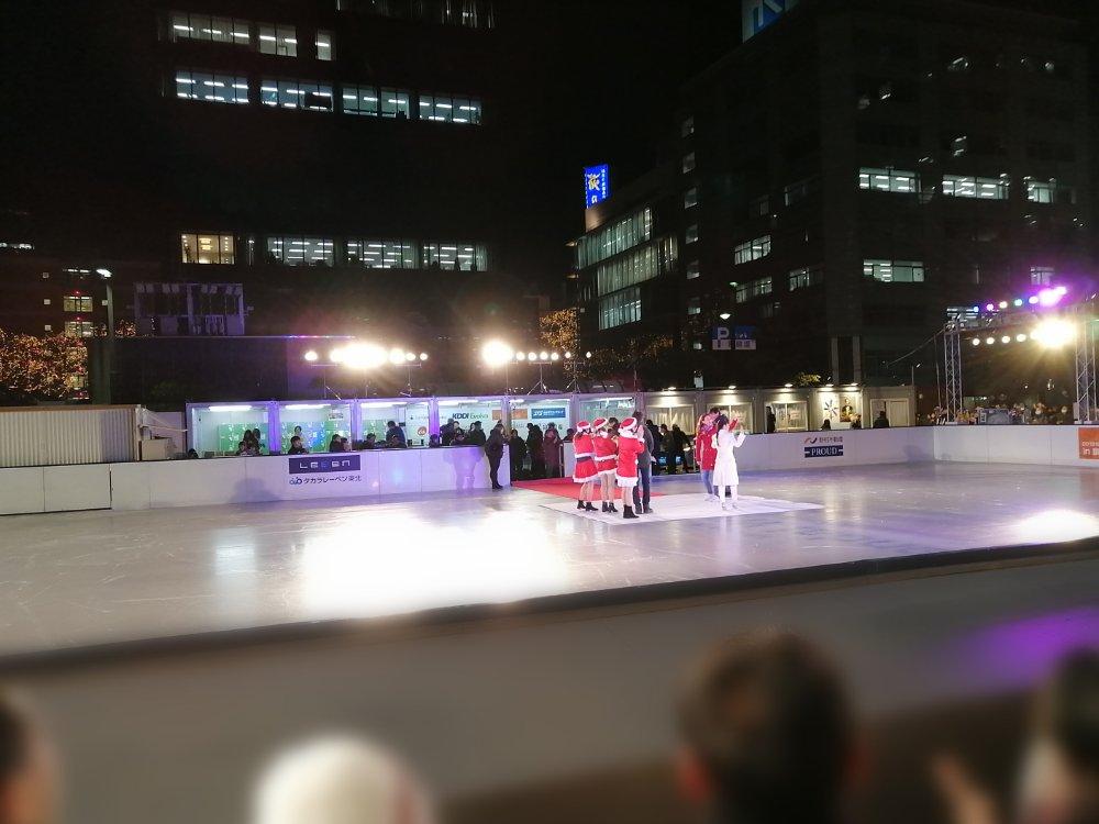 仙台市民広場のスターライトアイスリンク