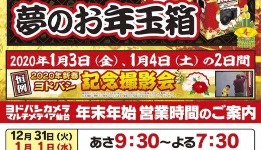 【2020年】ヨドバシカメラ仙台の初売りは1月2日から!最新情報まとめ