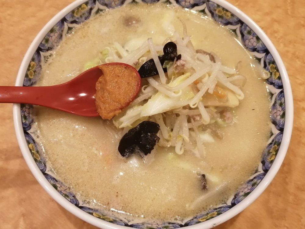 ラーメン天狗山 大和町店の辛みそラーメン