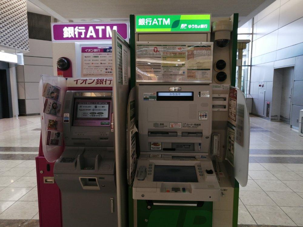 仙台空港のATM
