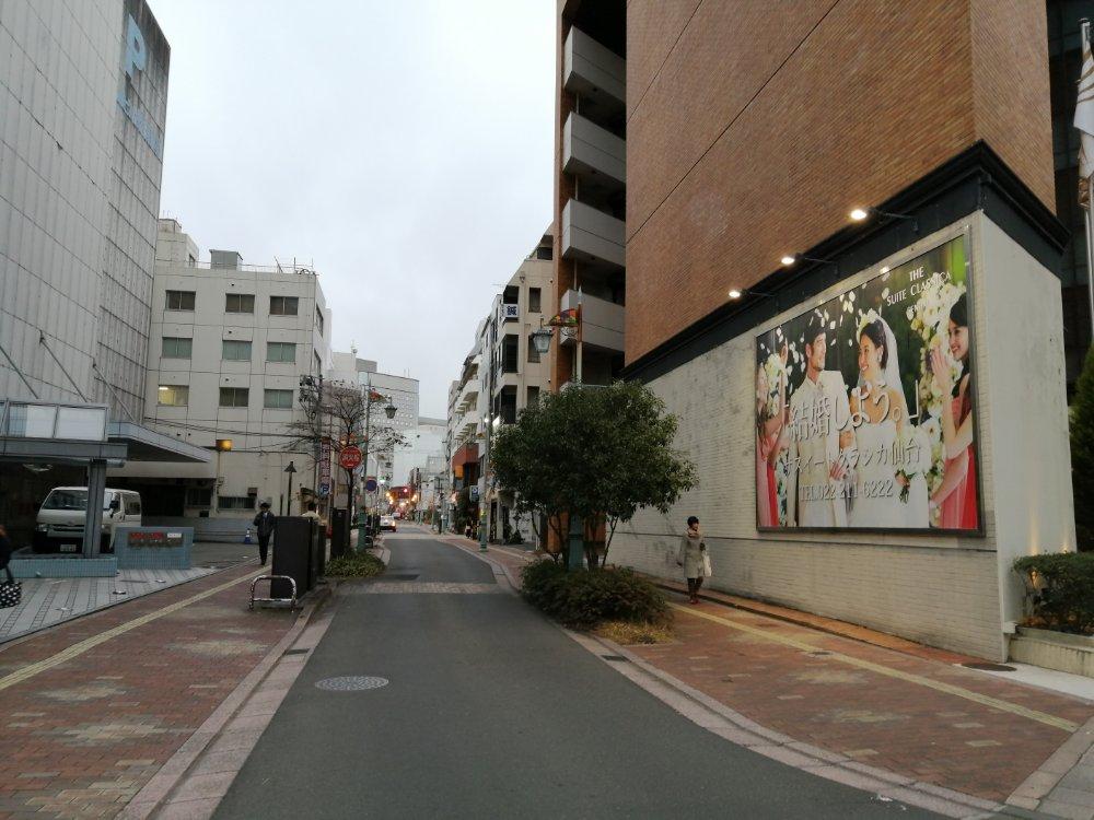 本町の通り2