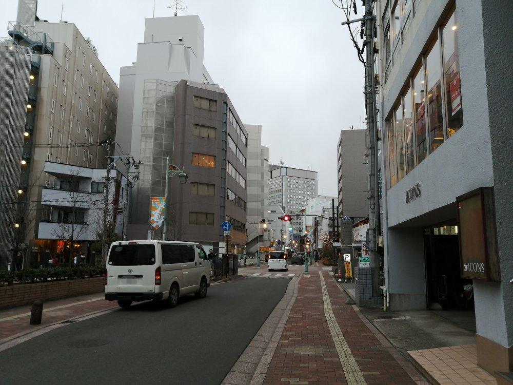 本町の通り
