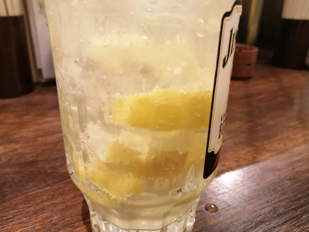 レモンたっぷり