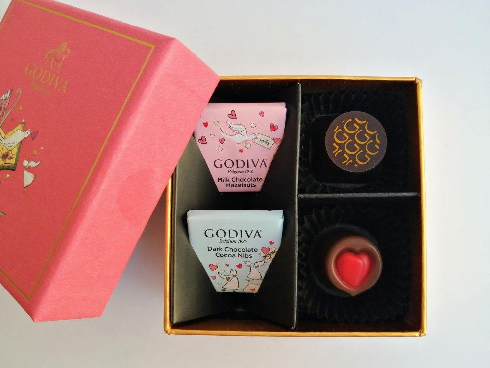 ゴディバのバレンタインチョコ