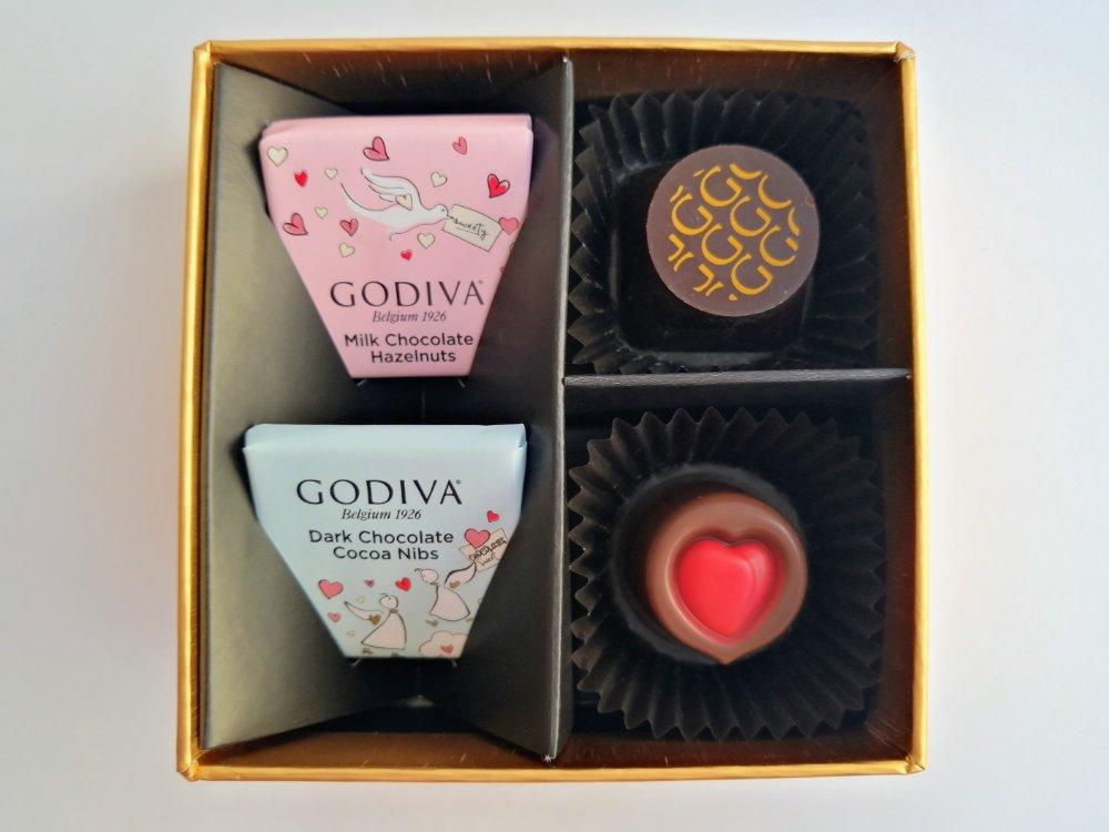 ゴディバのバレンタイン限定チョコ