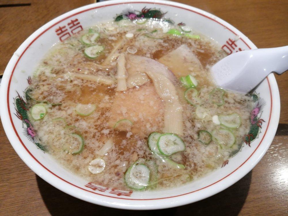 萬寿山ラーメン