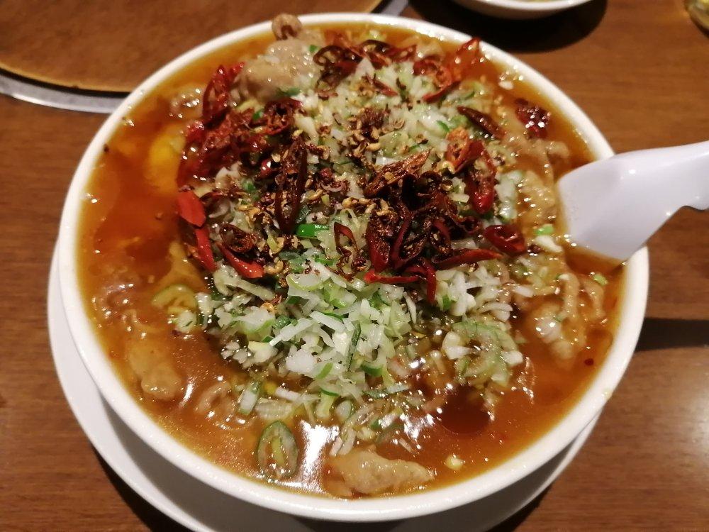 成龍萬寿山 水煮肉片
