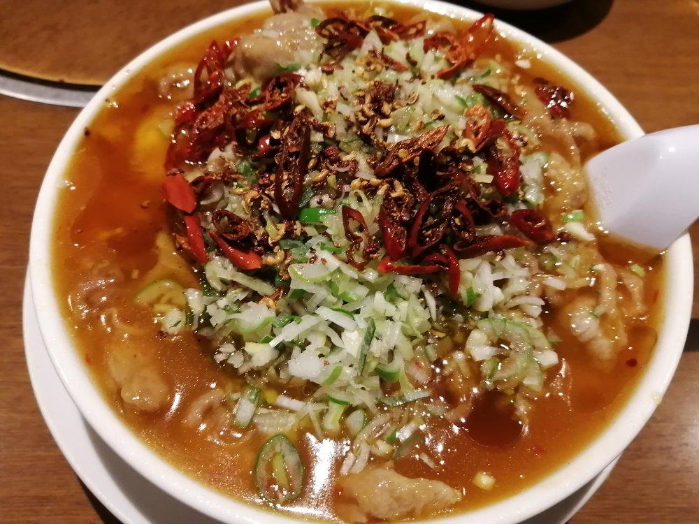 成龍萬寿山の水煮肉片