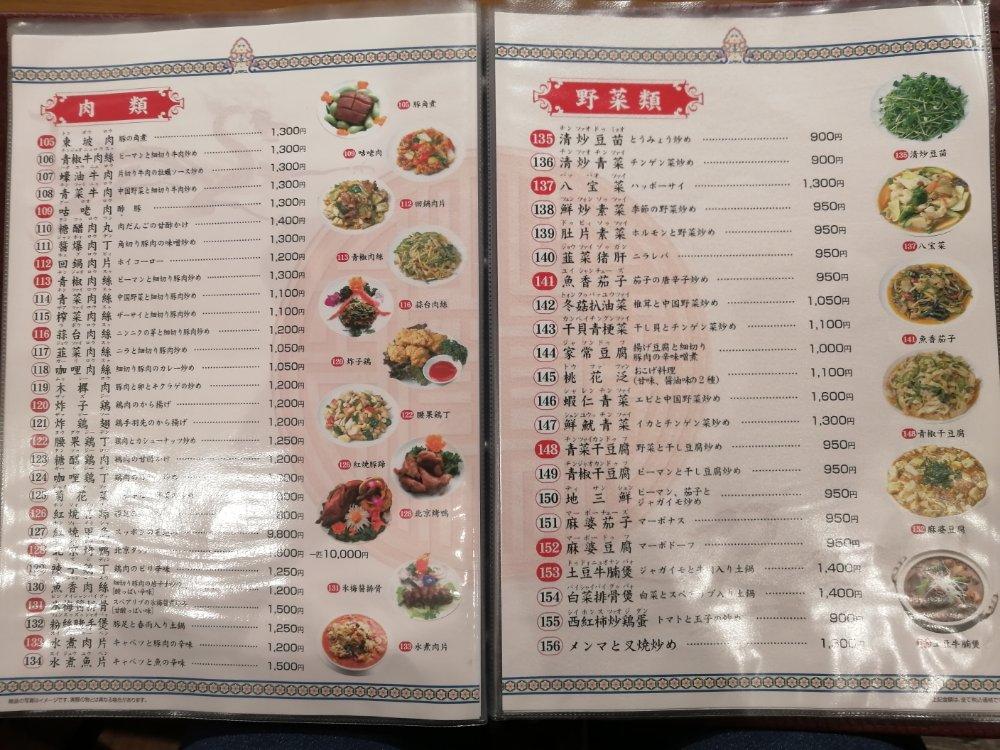 肉類・野菜類