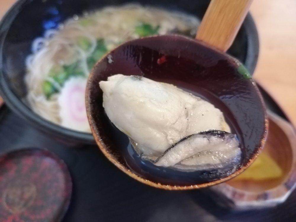 ぷりぷりの牡蠣