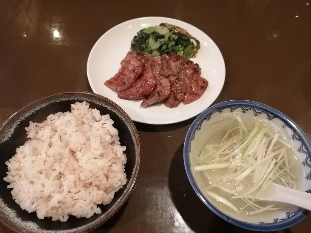 仙臺牛たん貴の牛タン定食