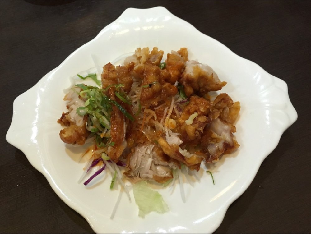 中国料理酔拳の油淋鶏