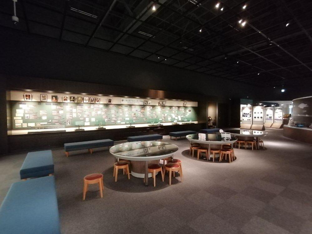 仙台市天文台の展示広場