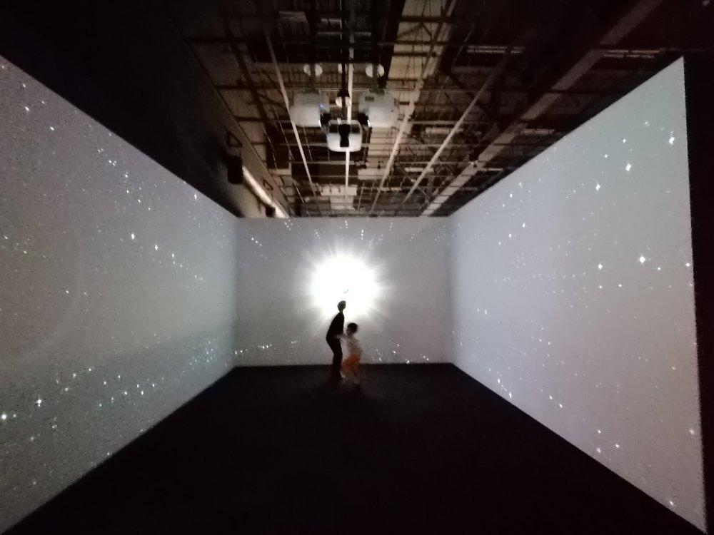 仙台市天文台の天の川銀河