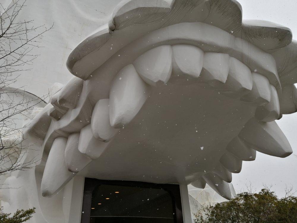 仙台大観音の龍の入口
