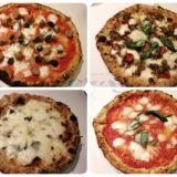 勝山館のピザ