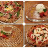 アモーラピッツァでディナー