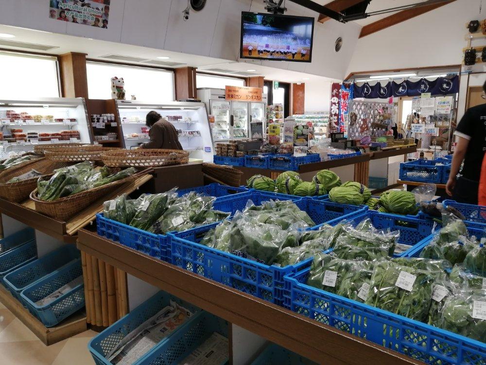 あ・ら・伊達な道の駅の農産物直売所