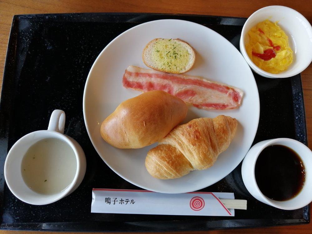 鳴子ホテルの朝食バイキング 洋食ver