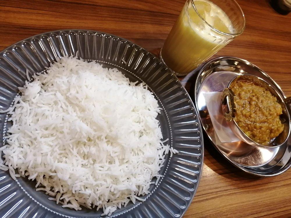 ケララキッチン南仙台店でチキンマサラとインド米