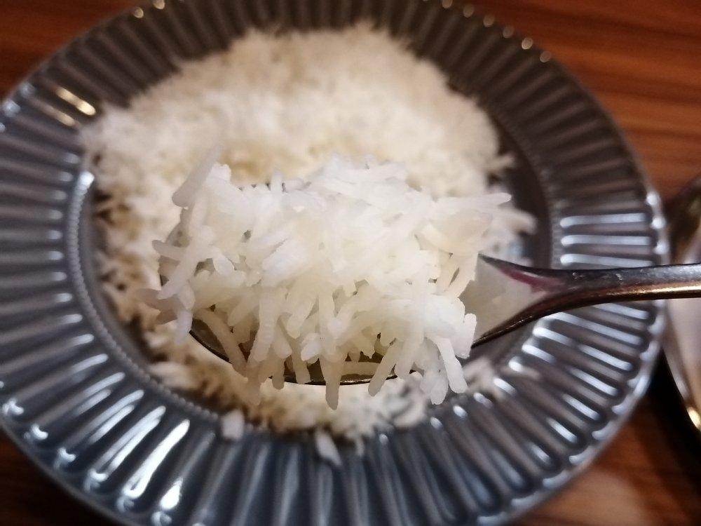 軽くてサラサラなインド米