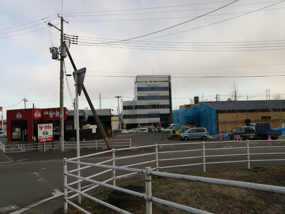 高倉町珈琲西多賀店の駐車場