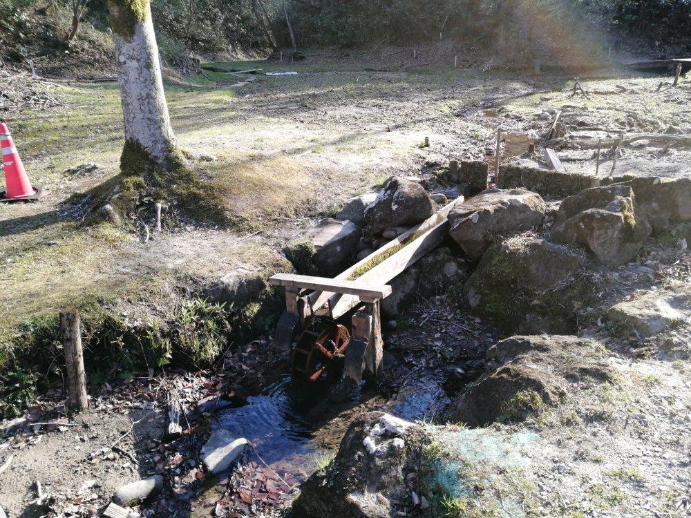 台原森林公園の水車