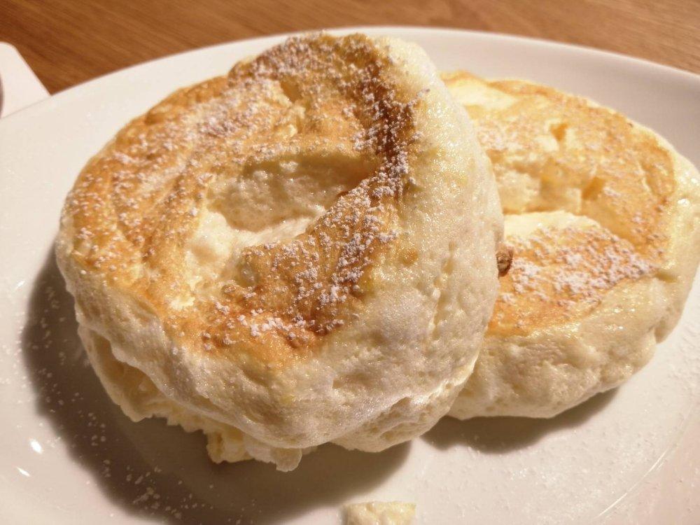 むさしの森珈琲 仙台富沢店のふわっとろパンケーキ