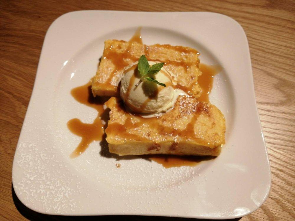 むさしの森珈琲 仙台富沢店のフレンチトースト