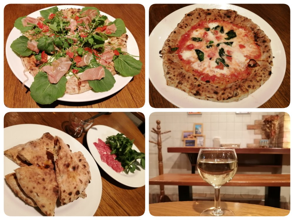 デナプレのピザ