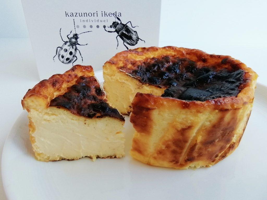 カズノリイケダのバスクチーズケーキ