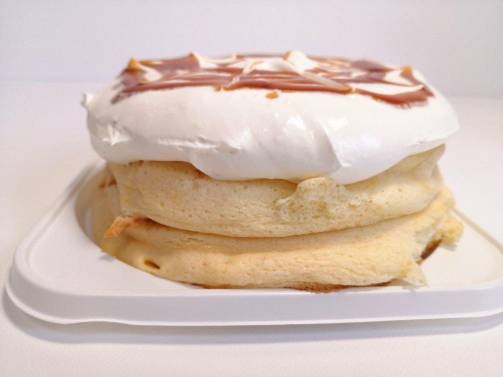 高倉町珈琲の特製クリーム リコッタパンケーキ