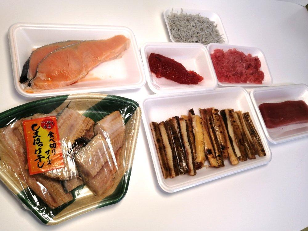 茂庭ドライブスルー市場の鮮魚セットB