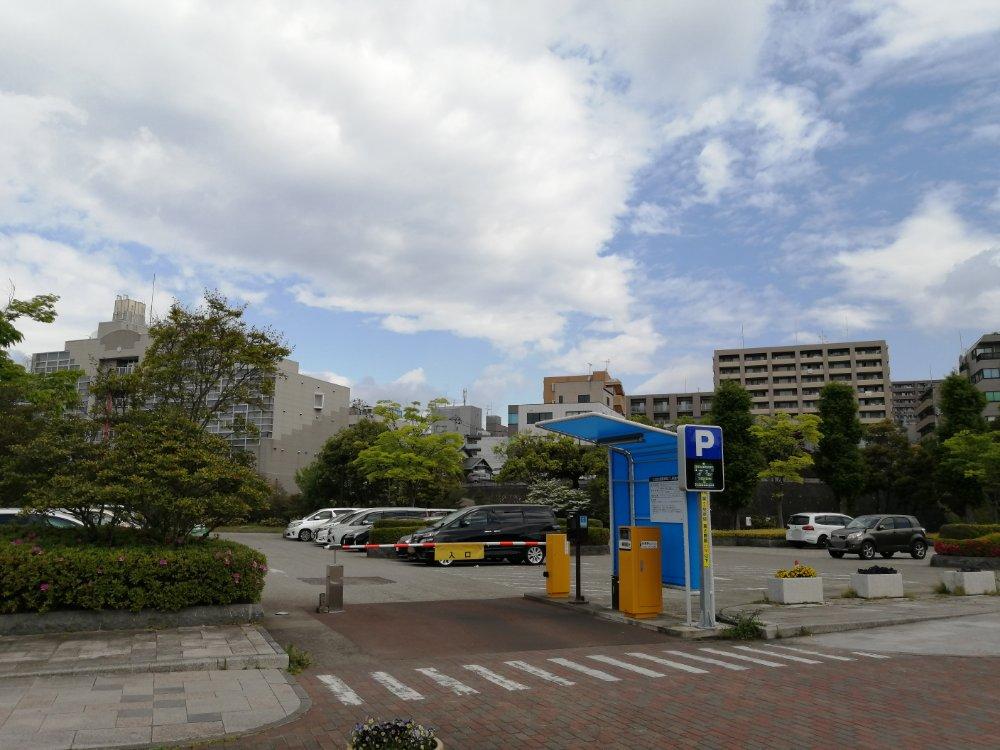 七北田公園のパーキング