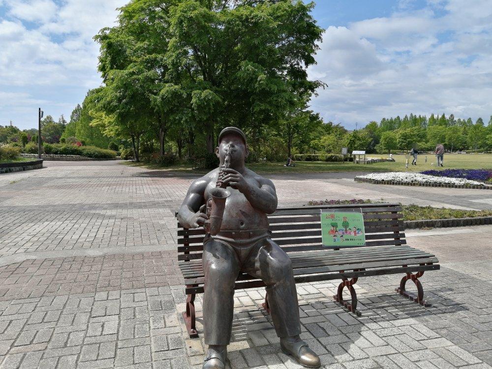 七北田公園の銅像