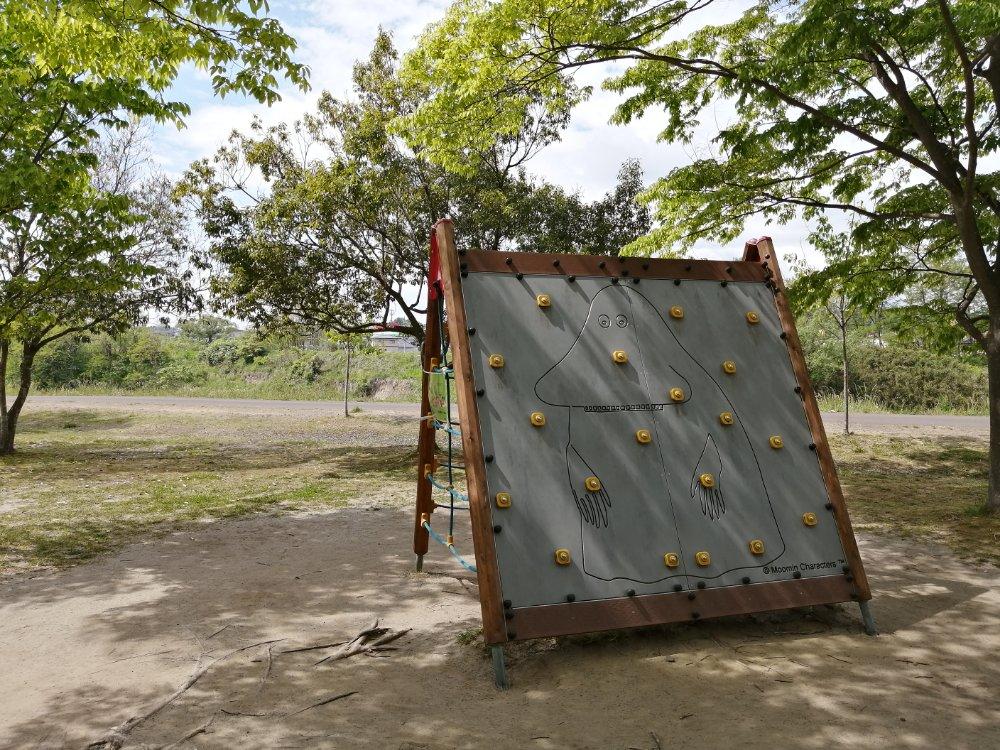 七北田公園のフィンランドから贈られた遊具