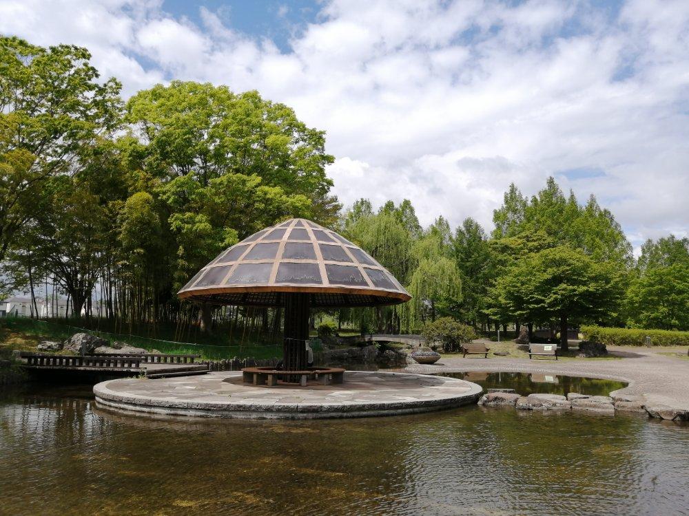 七北田公園の東屋