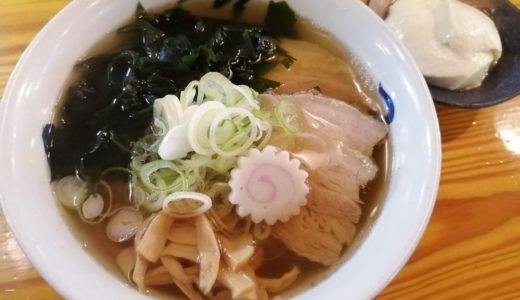 【ラーメン日記】泉区 五福星で朝ラー|つるつるシルク麺と豆腐付きで朝食にピッタリなラーメン